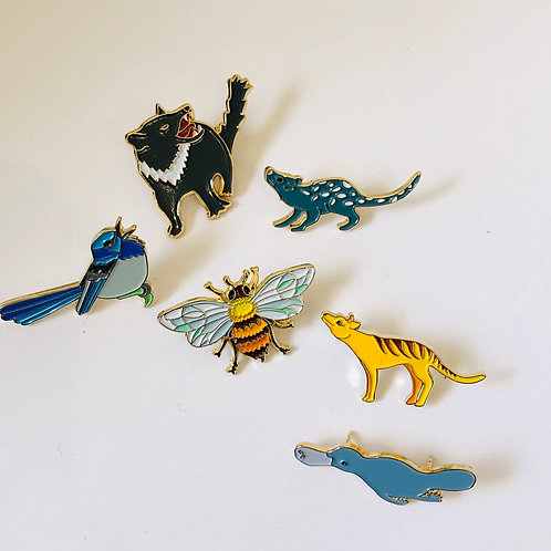 1 Aussie Animal Lapel Pin