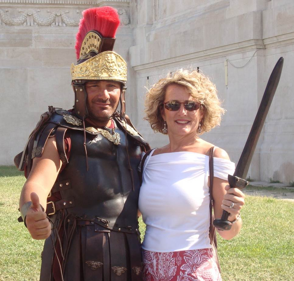 Jenny found a Roman! (maybe?)