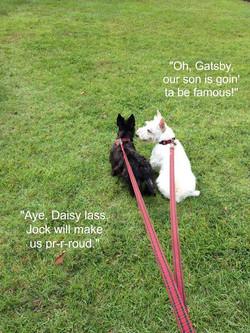 Jock's Parents, Daisy and Gatsby