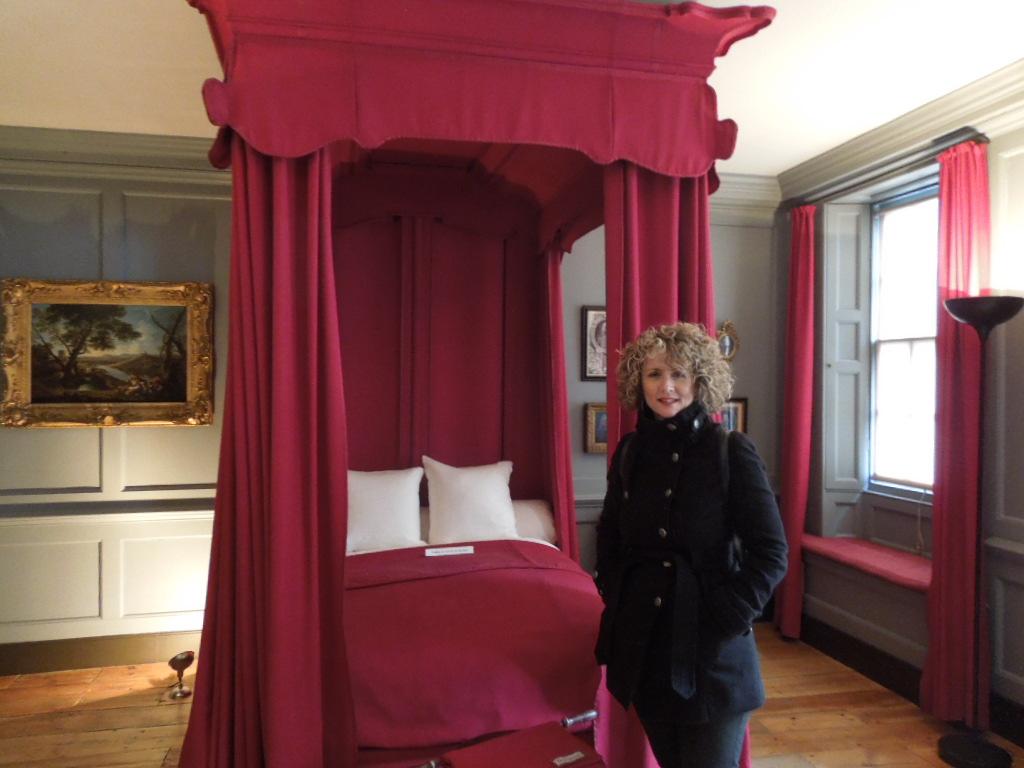Handel's bedroom