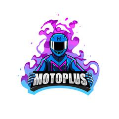 Motoplus Logo Design
