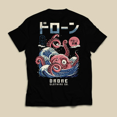 Drone Clothing Shirt Design