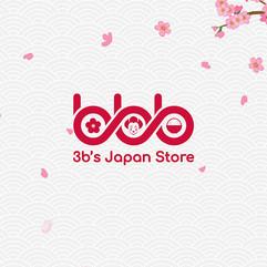 3B's Japan Store Logo Design