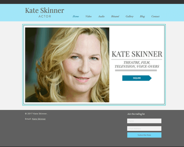Kate Skinner Actor