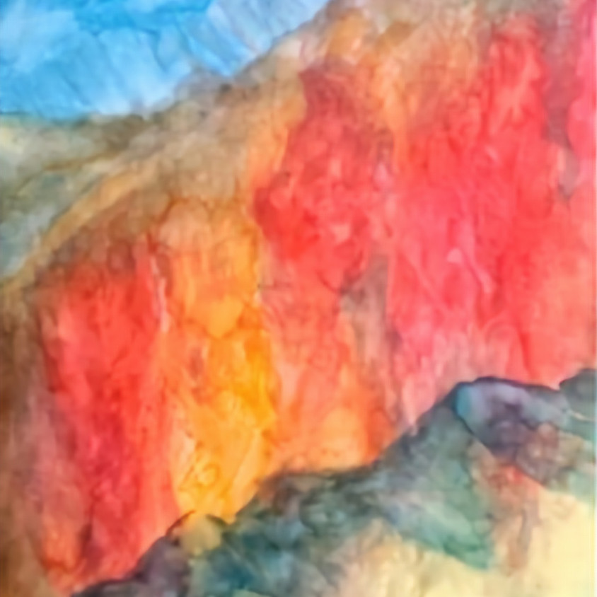 Color Meditation Painting Session 2, AM or PM