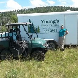 Service Vehicles, Young's Tree & Forestry