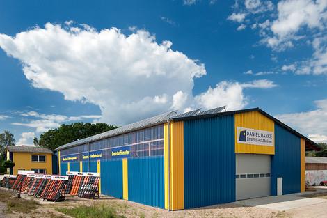BV: Industriehalle Zimmerei + Holzbau Daniel Hanke