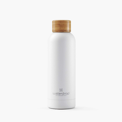 Bouteille Nomade isotherme White Bambou & Inox 500ml