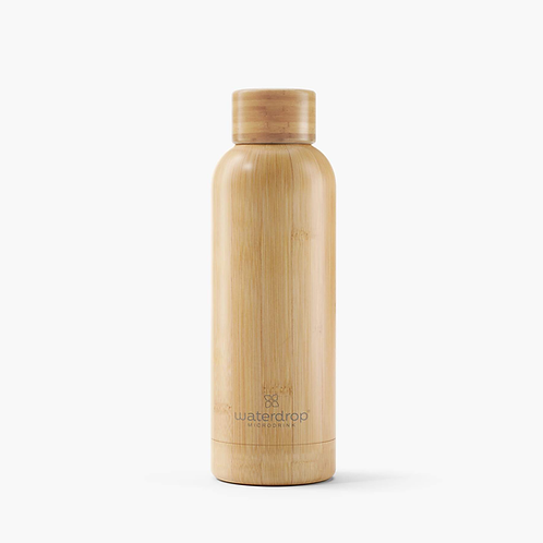 Bouteille nomade isotherme Bambou & Inox 500ml