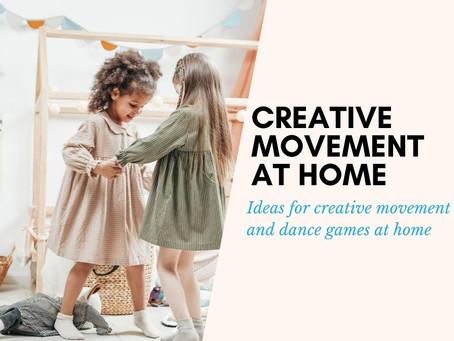 Creative Movement at Home