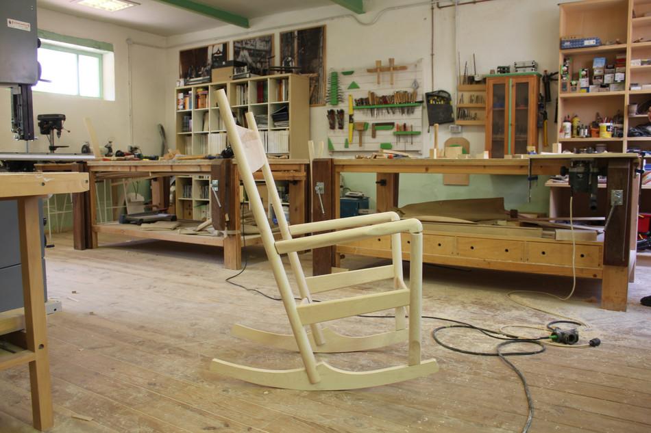 Rocking Chair PP 124 Hans Wegner
