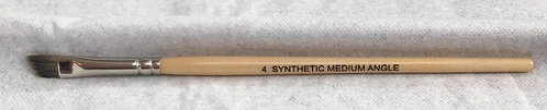 Synthetic Med Angle Brush #4