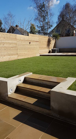 Contemporary fencing Woodford