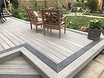 Composite prime dual decking Crews Hill