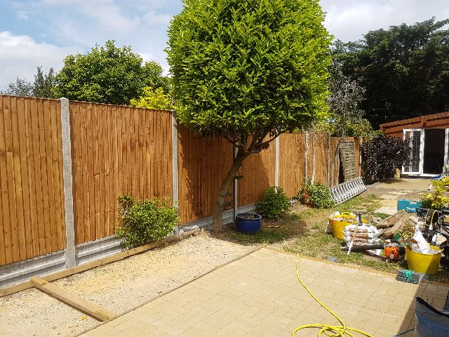 Closeboard Fencing panels