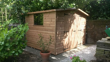 Apex Shed Double Doors