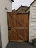 Garden side gates at Aylwards fencing in London