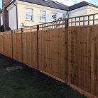 Arris rail fencing 3m