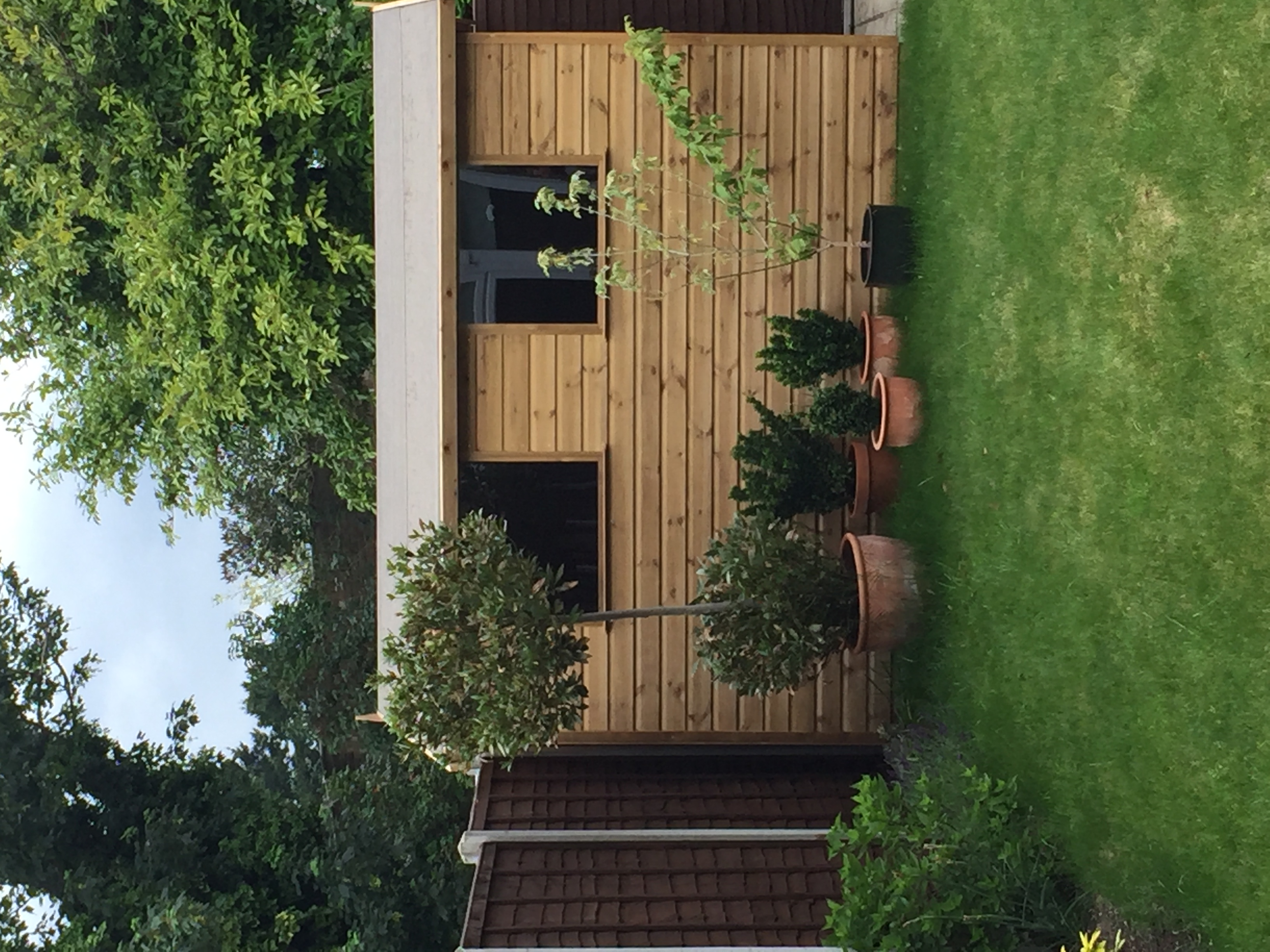 Apex garden building Potters Bar