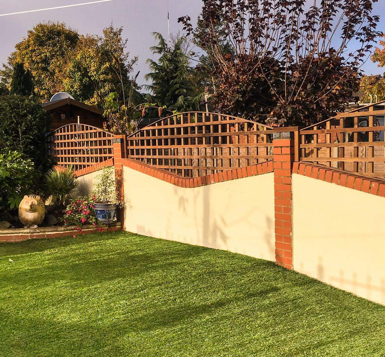 Custom made garden Trellis London