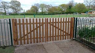 Driveway picket gates enfield