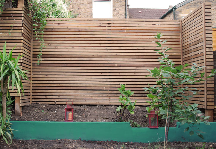 Contemporary fencing Wanstead