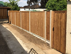 Premium Fencing made in potters bar area