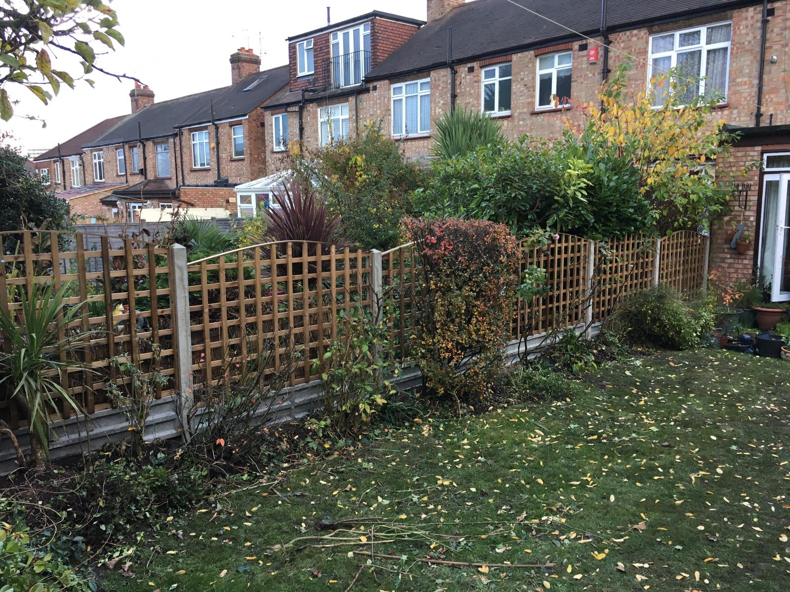 Garden trellis installation  London