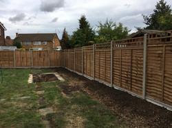 Overlap premium fence panels Ongar