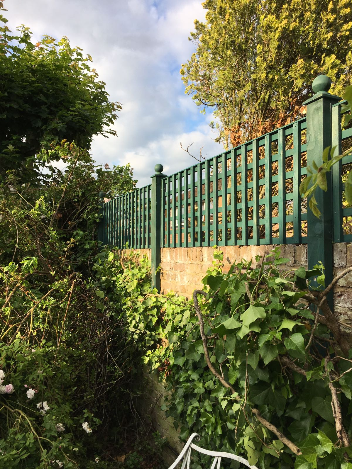Painted Trellis in East London