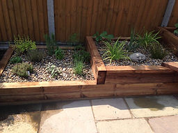 Pine garden sleepers in stock at at Aylwards Fencing