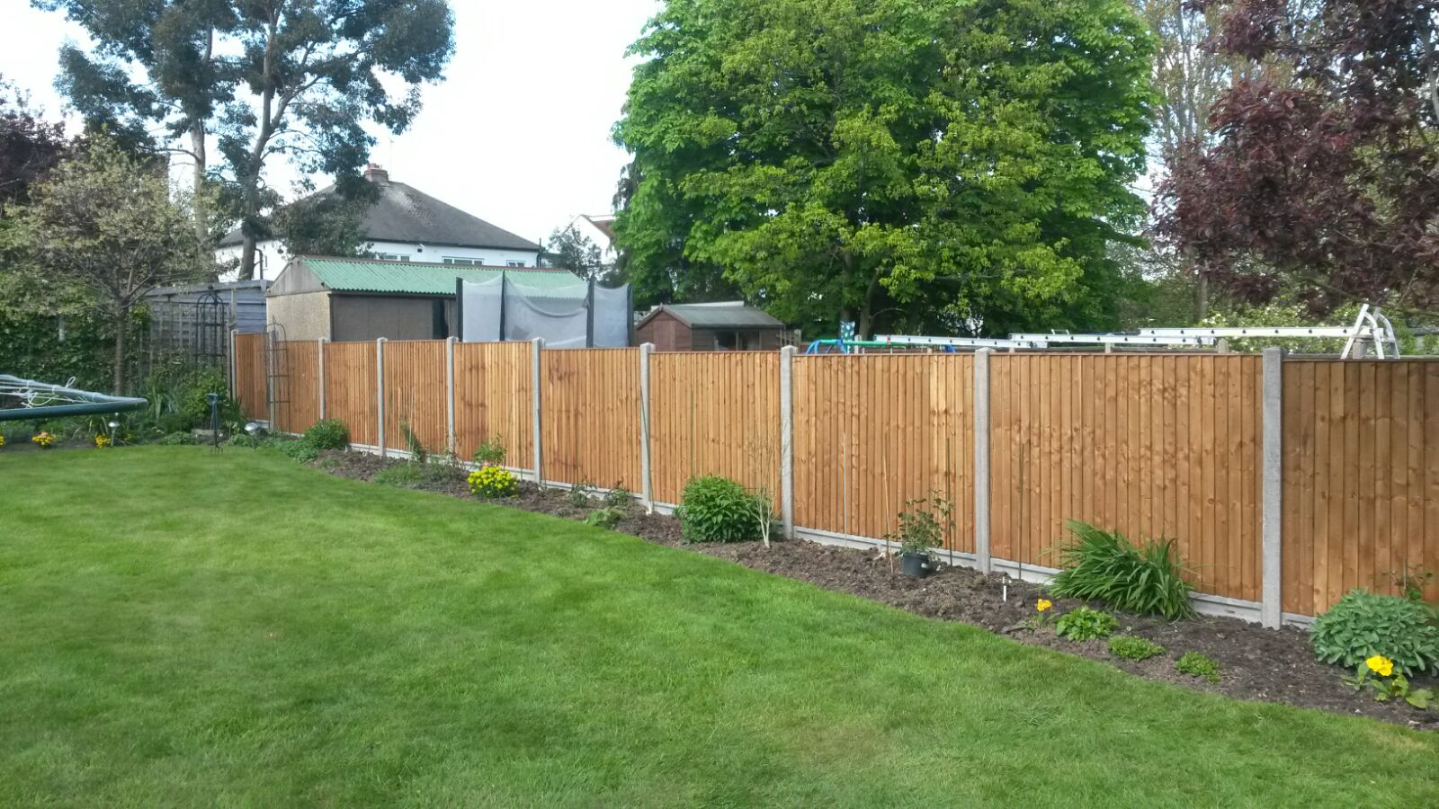 Quality Closeboard Fencing Cheshunt