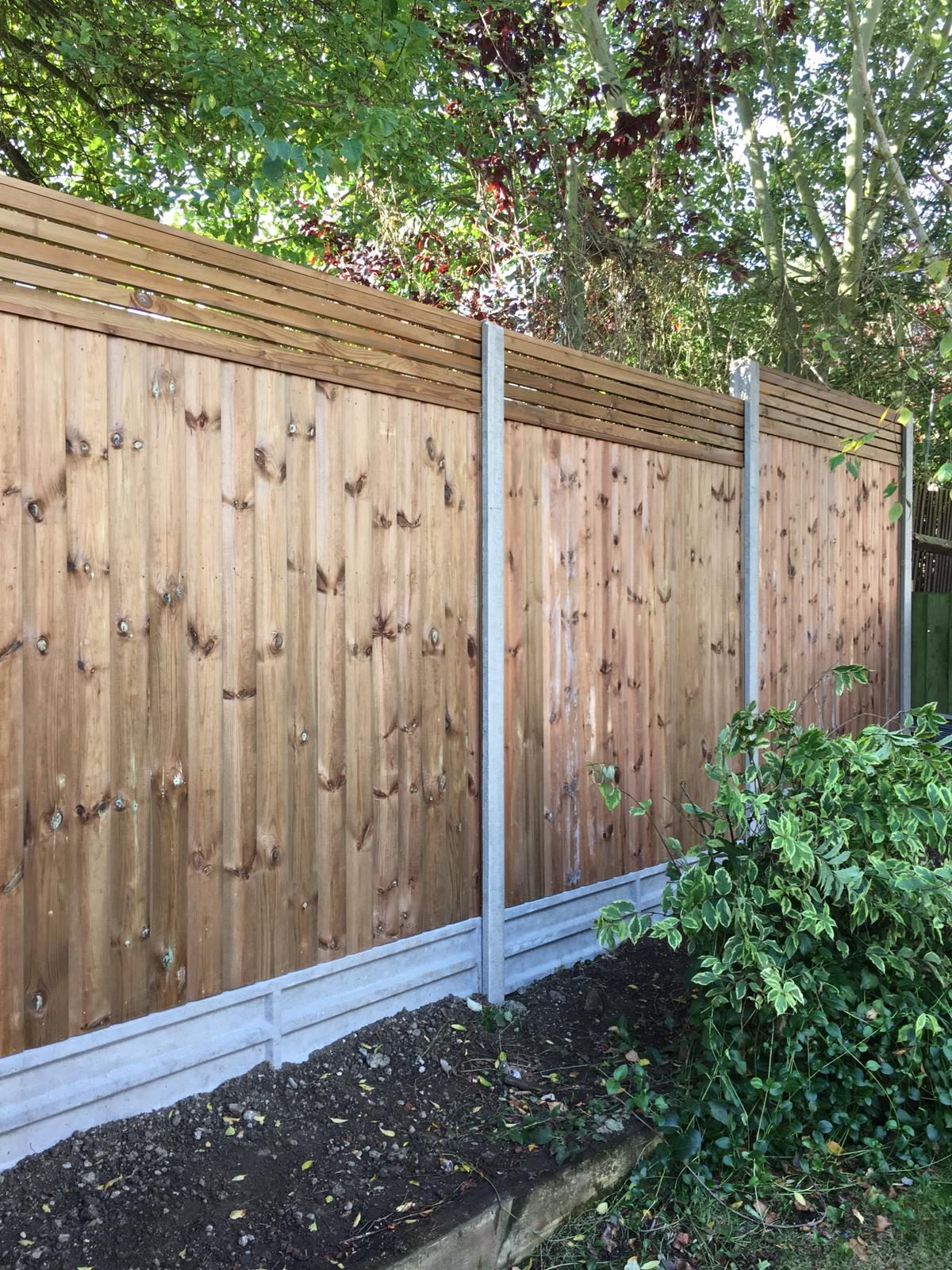 Contemporary Fencing Panels London