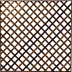Diamond trellis panel