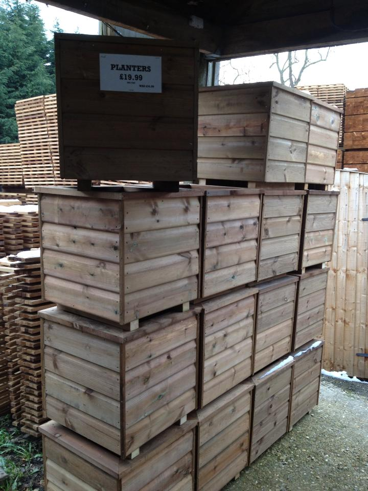 planters ready for next day delivery