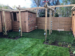 Garden Play Area Shed