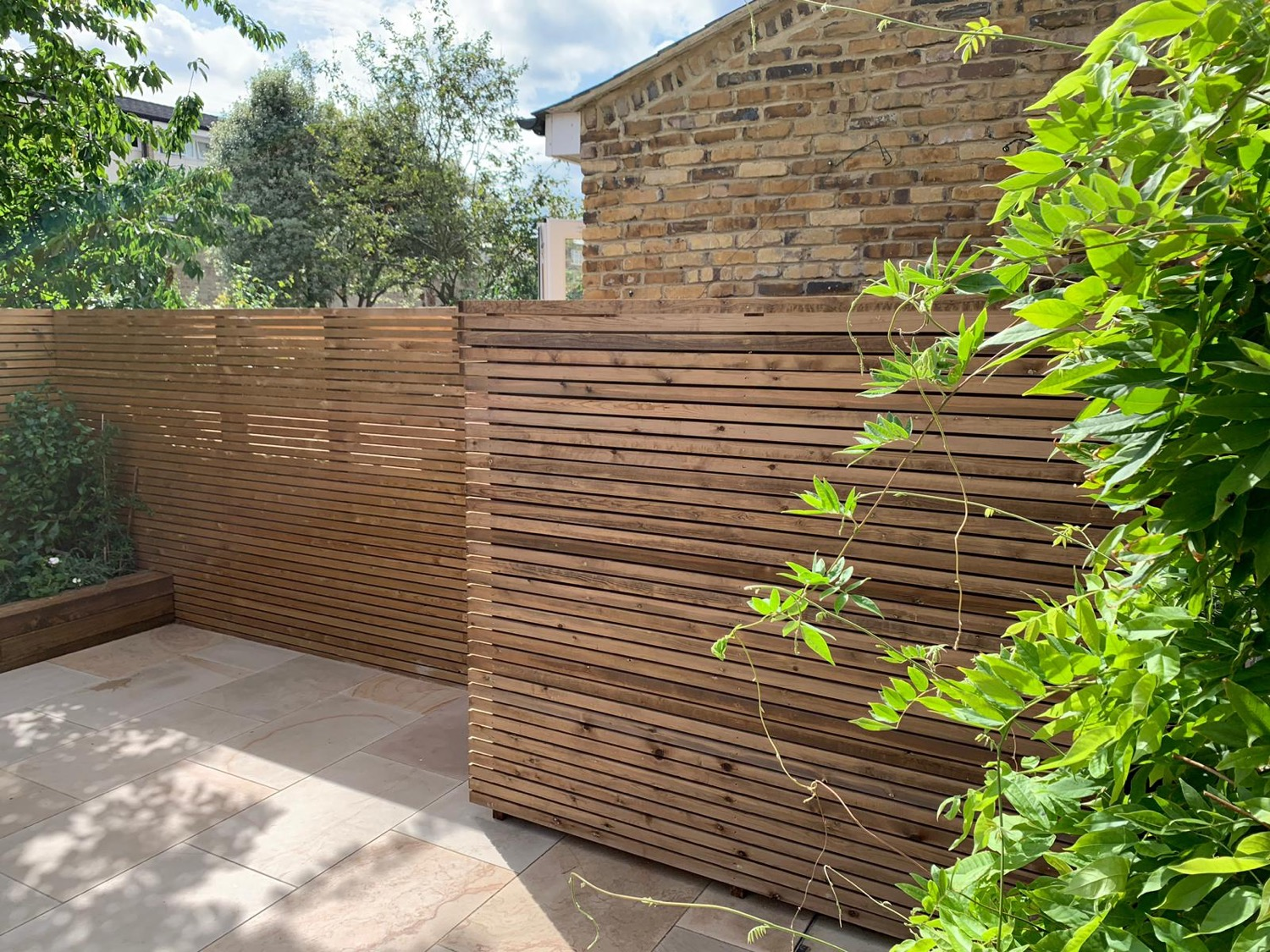 Contemporary Fencing Slats