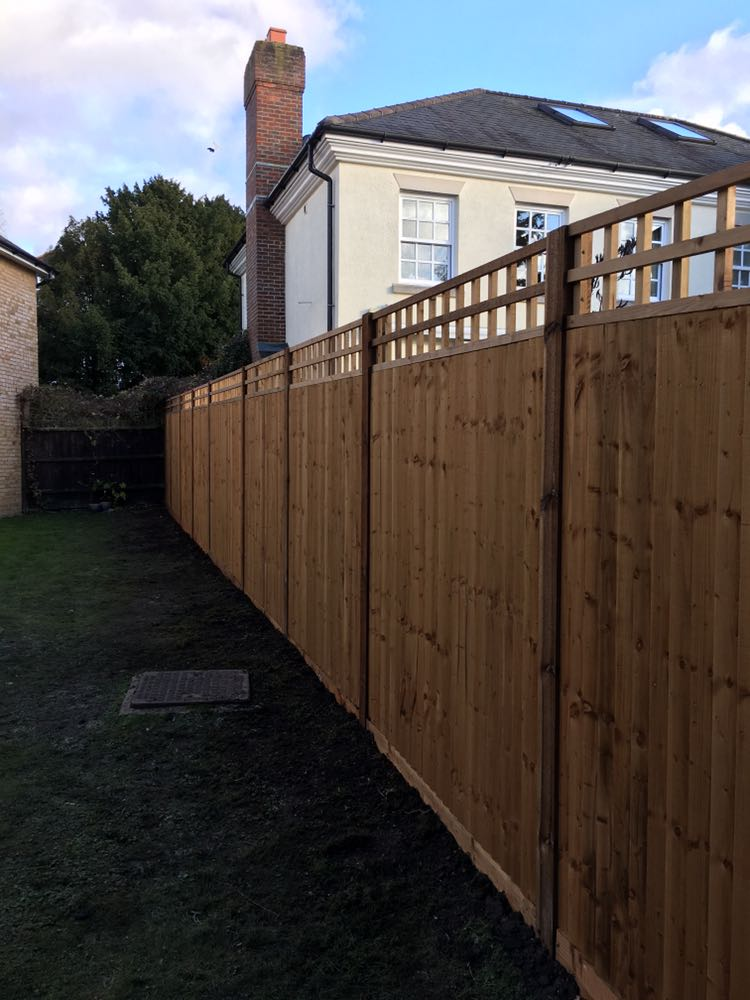 Fencing installation Cheshunt Free!