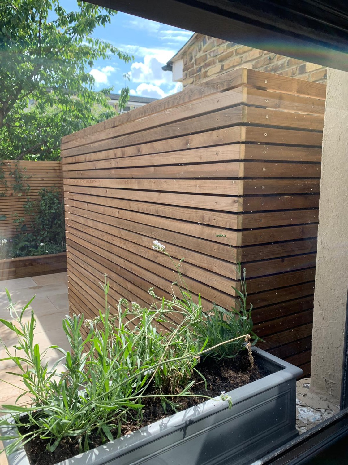 Cedar alternative fencing