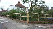 round posts for sale North London