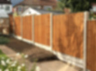 Fencing installed in Potters Bar