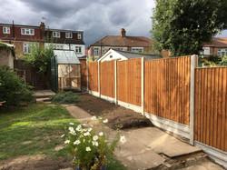 Premium closeboard fencing