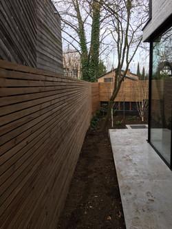 Slatted cedar Panel supplier