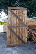 Wooden garden gates made to size London
