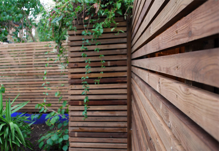 Contemporary trellis close up