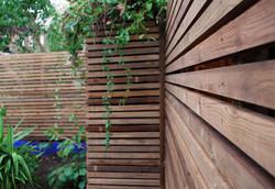 contemporary trellis cedar looking