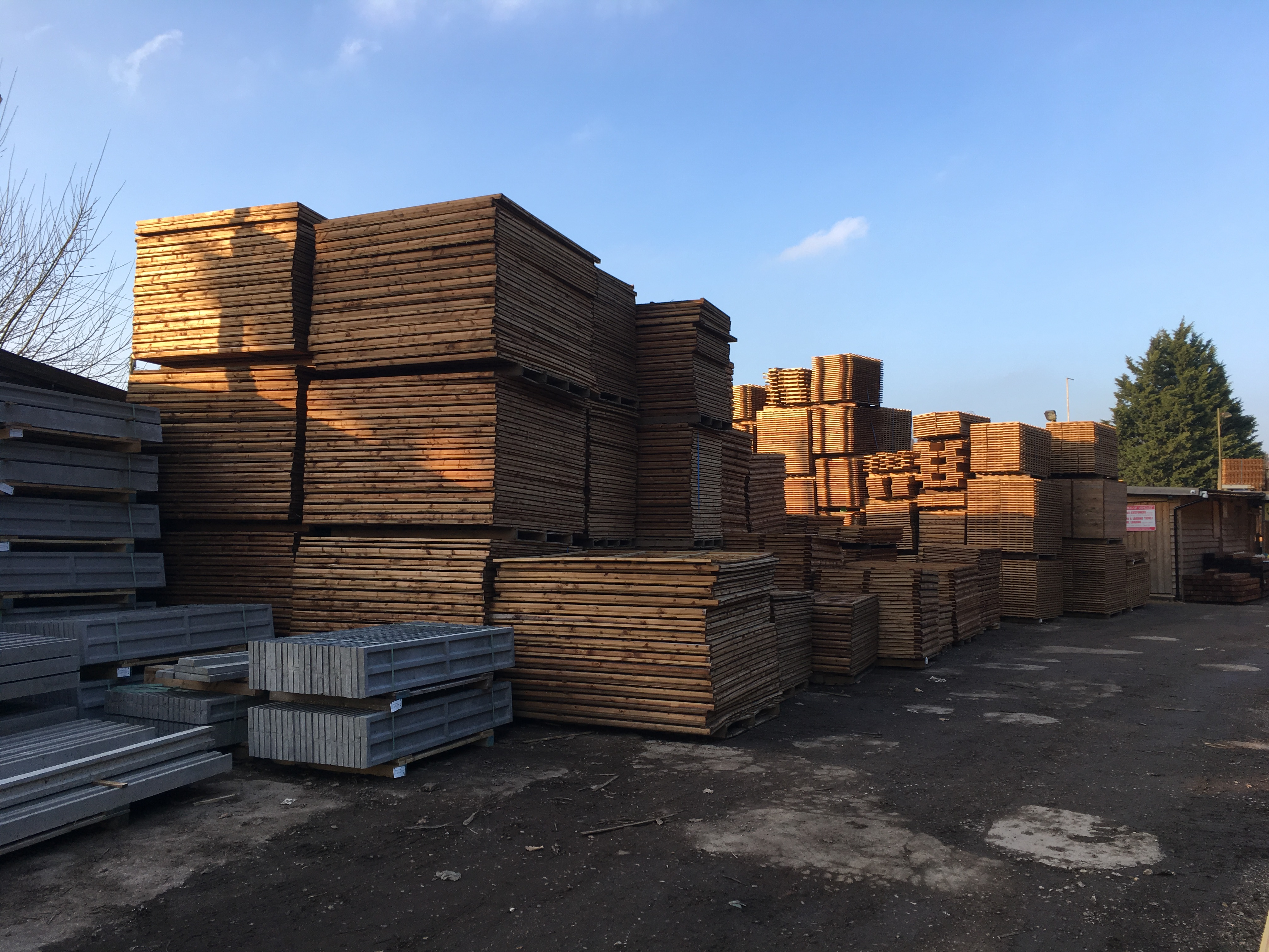 Fencing In Stock