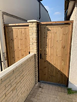 Smooth treated gate