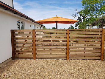 Enfield Slatted fencing company