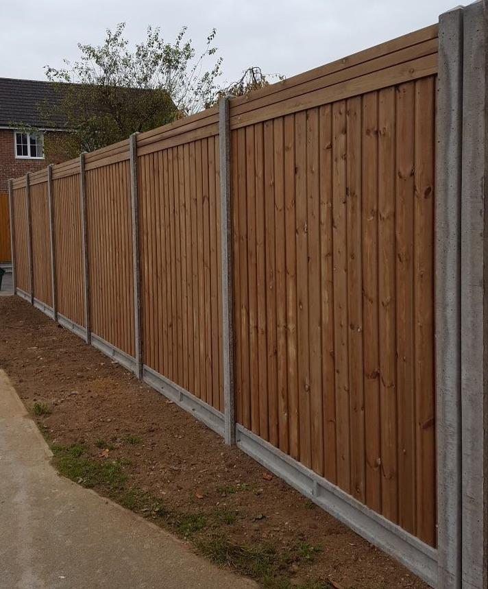 Garden fencing installation Harlow
